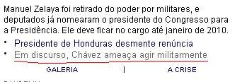 Folha Honduras
